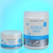 Кокосовая восстанавливающая маска для волос Coco Mask Profis фото