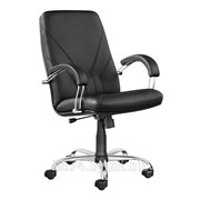 Кресло руководителя Manager steel chrome фото