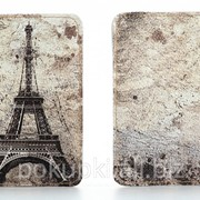 Кожаная обложка на паспорт Париж фото