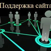 Информационная поддержка веб сайта фото