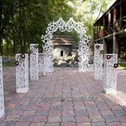 Свадебные столбы фото