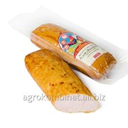Продукт из мяса птицы рулет Филейный копчено-вареный, высший сорт фото