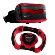 Виртуальные очки VR с игрой и контроллером Real Feel Racing (49400B) фото