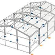 Проектирование ангаров из ЛСТК. фото