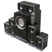Комплект акустический для домашнего кинотеатра Nakatomi CS-52 black фото