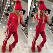 """Женский стильный спортивный костюм """"""""Adidas"""", 3 расцветки фото"""