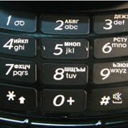 Лазерная гравировка клавиатур телефонов фото