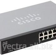 Коммутатор Cisco SB SF100-16 16-Port 10/100 Switch (SF100-16-EU) фото