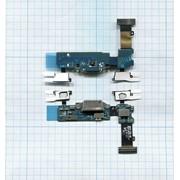 Разъем Micro USB для Samsung G900F (плата с системным разъемом, микрофоном, сенсором и шлейфом) фото