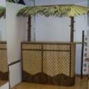 Стойки барные из бамбука фото