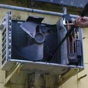Чистка теплообменника наружного и внутреннего блока кондиционера фото