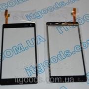 Тачскрин оригинальный / сенсор (сенсорное стекло) для HTC Desire 600 606 606W (черный цвет) + СКОТЧ В ПОДАРОК 2616 фото