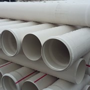 Труба ПВХ канализационная ⌀160 мм 2,8 мм 3 м фото