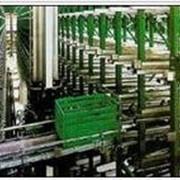 Автоматизированные стеллажные системы. Стеллажные системы c автоматизированной загрузкой и выгрузкой. фото