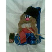 Кукла-оберег домовик-казак фото