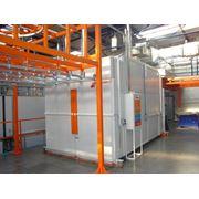 оборудование для предварительной химической обработки поверхности и порошковой окраски металлоизделий установки очистки сточных вод компании «MONKIEWICZ» (Польша) - оборудование для нанесения порошковых красок компании «NORDSON» (США) фото