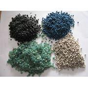 Вторичная гранула полиэтилена,ПЭТФ-хлопья,пленка ПВД фото
