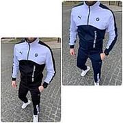 Мужской спортивный костюм Puma BMW НН/-948 - Черный фото