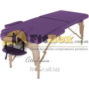 Массажный стол складной Art of choice Teo (фиолетовый), art: HQ01V фото