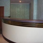 Ресепшн-столы. фото
