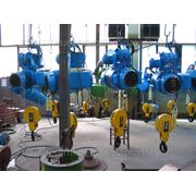 Тали, тельферы грузоподъемностью 0,5 тонн в/п 9м. фото