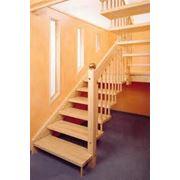 Лестницы деревянные на заказ фото