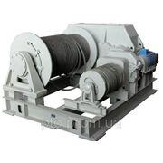 Маневровая лебедка ЛЭМ-15 фото