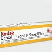 Рентгеновская пленка Kodak D-Speed Kodak 100 D-Speed (31x41 мм) рентгеновская плёнка с оптимальным временем экспозиции, в упаковке Poly–Soft. 100 листов фото