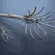 Провода стальные многопроволочные для передачи электрической энергии и сердечники проводов фото