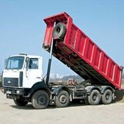 Перевозки грузов самосвалами фото