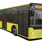 Богдан А80190, аэродромный автобус , двигатель Deutz TCD, объем двигателя 7150 куб. см, АКПП Voith Diwa D854.5 (Allison T325 R), ABS, мест 147, количество дверей: 6, пр-во Украина. Для обслуживания аэропортов. фото