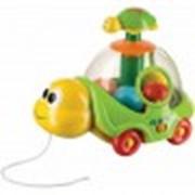 Игрушка Happy Baby Музыкальная каталка-юла IQ- TURTLE фото
