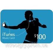 Пополнение счета iTunes Gift Card $100 USA фото