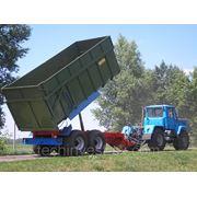 Тракторный самосвальный прицеп ТСП-20 грузоподъемность 15 т , объем 19-26,5 м3 фото