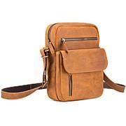"""Кожаная сумка """"Эквадор"""" (рыжий крейзи) фото"""