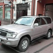Toyota Land Cruiser 100 фото