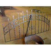 Решетки кованые ограждения навесы заборы ворота и прочее фото