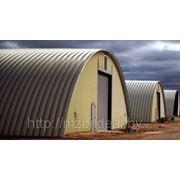 Площадка под строительство, установку ангара (металоконструкций) фото
