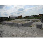 Земельный участок в Бресте, фундамент, 12 х 12 м. фото