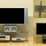 Стойка под телевизор Стекло-Модуль Вертикаль фото