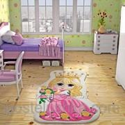 Коврик в детскую комнату Confetti Princess 100*160 фуксия фото