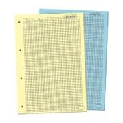 Блок сменный для тетрадей на кольцах Сменный блок 100л,А4,2цвета,ATTACHE фото