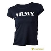 Футболка ARMY женская фото