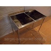 Ванна моечная трёхсекционная полностью из нержавеющей стали (ДхШхВ) 1200х600х860 емкость 400х500х300 фото