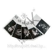 Трафареты для боди арт «IRISK» (в ассорт.) (более 80 видов) фото