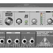 Процессор мультиэффектов BEHRINGER MINIFEX FEX800 фото