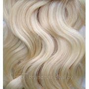 Вьющиеся волосы №613 блонд фото