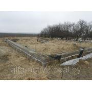 Участок около Чернавчиц с фундаментом, 15,1 сотки. фото