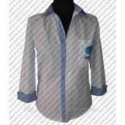 Корпоративная одежда на заказ: мужские и женские рубашки фото