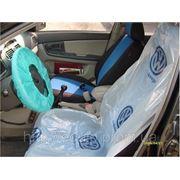 Купить Защитный комплект для предотвращения загрязнения салона авто при проведении работ на автосервисе фото